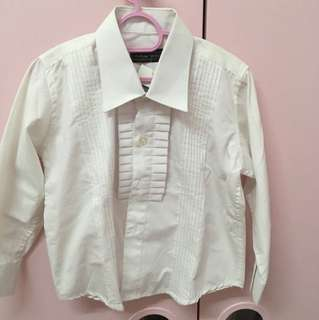 Kids white blouse