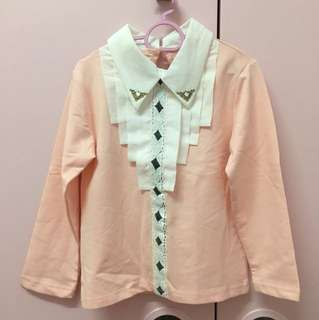 Kids pink blouse