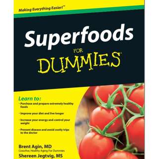 Ebook Superfoods For Dummies