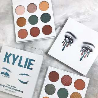 Instock! Kylie Cosmetics Eyeshadow Palette - The Blue Honey Kyshadow