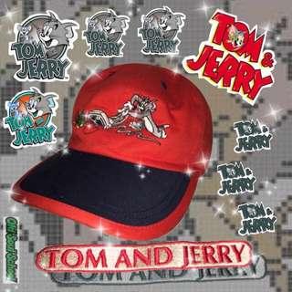 🚚 湯姆貓與傑利鼠 老帽 老品新貨 復古 Tom&Jerry 貓鼠大戰 OldSchool #新春八折