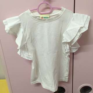 Kids white Top