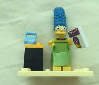 Marge from the Simpsons Lego Like