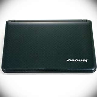 Jet Black Lenovo Ideapad Laptop, Great For Study And Carry