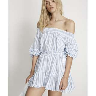 faithfull stripe dress melos faithful Silk Slip Dress posse gingham dress Bec & and Bridge  dress maurie eve manning cartell sir the label realisation par posse verge girl zara zimmermann playsuit 2 piece set small/8