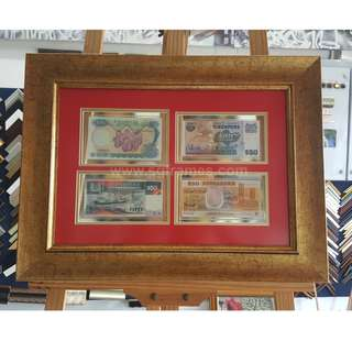 Currency / Coin Framing Service Best in Singapore SGFrames.com