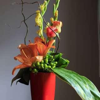 Arrangement fresh flower