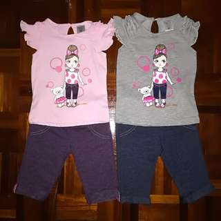 NEW Mom's Heart baby shirt and pants set size M