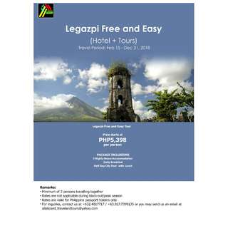 Legazpi Free and Easy Tour