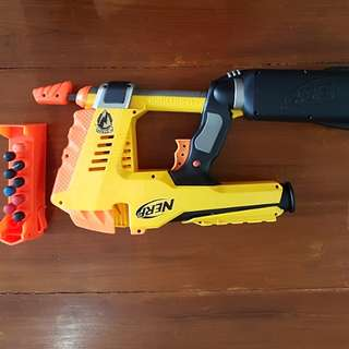 Nerf Magstrike OG (Yellow/Orange) RARE