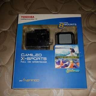 Toshiba camileo x-sports full HD sportscam