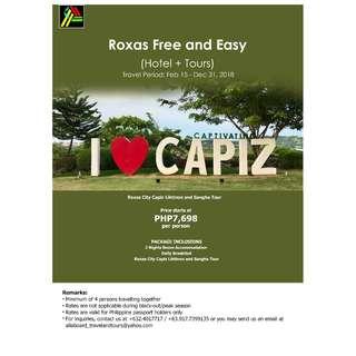 Roxas City Capiz Liktinon and Sangha Tour