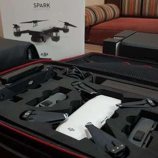 Drone Dji Spark Fly More Combo White