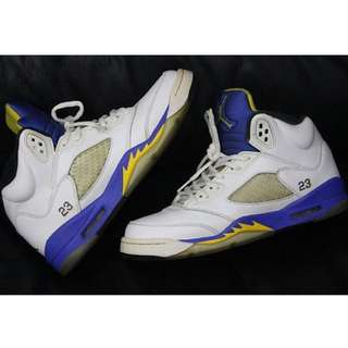dbbacf7e0fb94e Jordan 5 Laney (pre-loved) AUTHENTIC ‼
