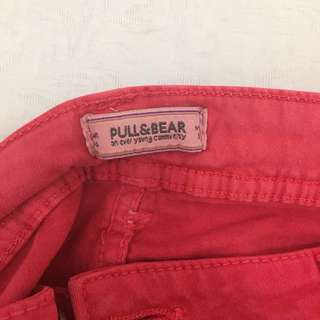 PULL&BEAR Red Jeans (long)