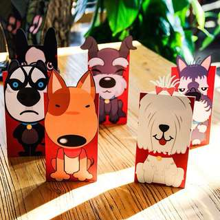 Dog Year 2018 Red Packets
