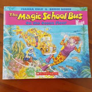 The magic sch bus on the ocean floor
