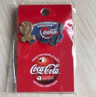2002世界杯 絕版 襟章