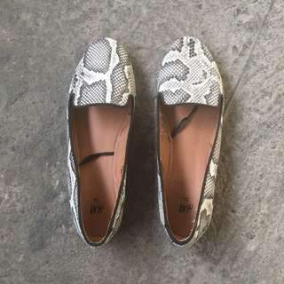 H&M Snake Loafers