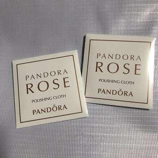 Authentic Pandora Rose Polishing Cloth