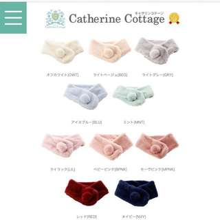 Catherine Cottage 毛毛頸巾