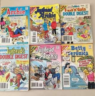Sale ! Archie's Comics 20 books bundle !