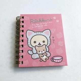 Rilakkuma Mini Notebook Instocks