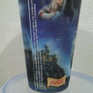 Coca cola 3D harry potter cup