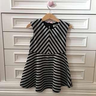 Next Black & White Dress