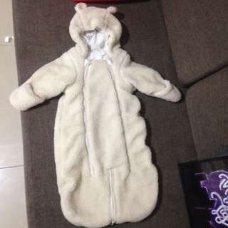 H&M Fluffy Bear Suit