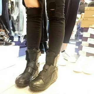 韓國最新真皮短boot