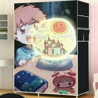 moon light one piece roll up curtain