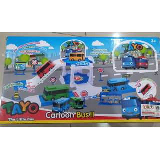 Tayo The Little Bus, Cartoon Bus