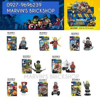 For Sale Avengers The Infinity War 8in1 Minifigures