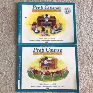 Piano prep course level B books