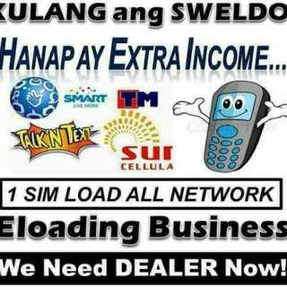 e-Loading Dealer with free basic phone & 404 Wallet Load