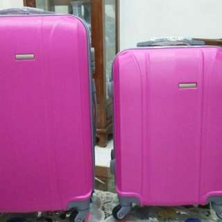 (New) 2 Koper polo Twin Pink