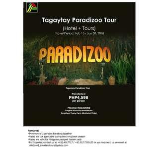 Tagaytay Paradizoo Tour