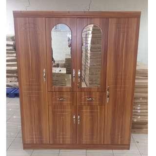 4 door wardrobe TAILEE WD-441 rosewood
