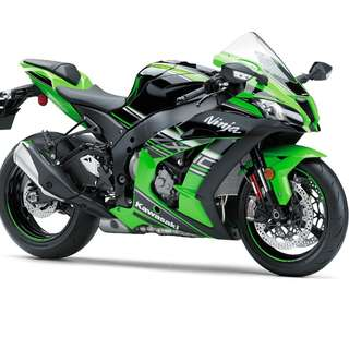 Kawasaki New ZX10R 2016 $49.5k OTR No Inclusive insurance With Free Pipe Akrapovic D/P $500 or $0 With out insurance (Terms and conditions apply. Pls call 67468582 De Xing Motor Pte Ltd Blk 3006 Ubi Road 1 #01-356 S 408700.