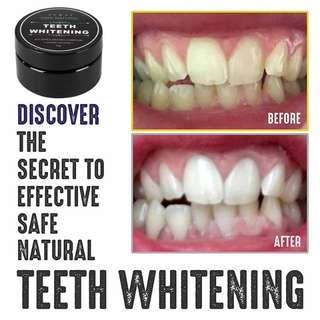 😁 Activated Charcoal Teeth Whitening Long Lasting