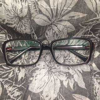 Square Good Quality Glasses / Kacamata Minus / Frame / Lensa / Lens