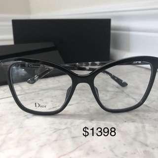 Dior 黑色貓眼眼鏡