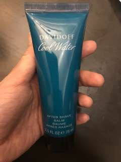 Cool water after shave balm 75ml
