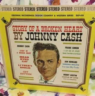 Johnny Cash - broken heart lp vinyl