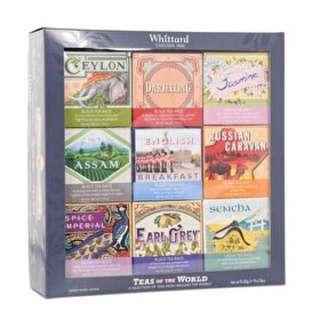 🚚 Whittard英國- 裸茶包禮盒(九種口味各20包裸茶)現貨!