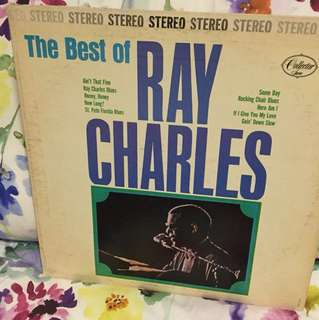 Ray Charles - best of - lp vinyl