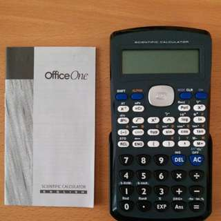 Office One Calculator with Back cover