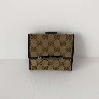 Authentic Gucci Compact Wallet