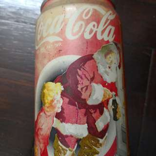 Coca-cola vintage christmas edition year 1996